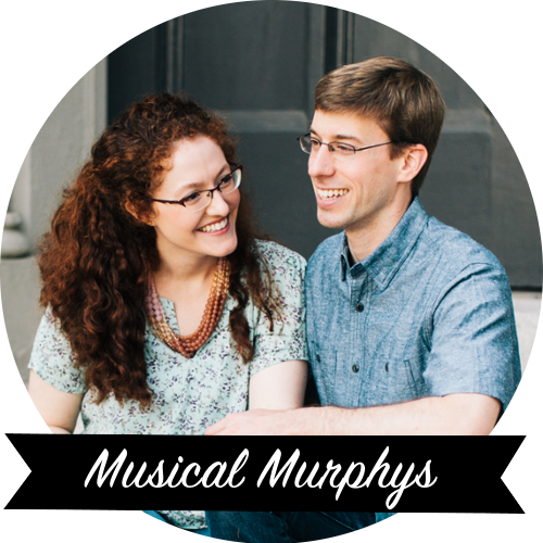 Musical Murphys - Husband and wife music team. Creating modern hymns, spiritual songs, and psalms put to music for the glory of the Lord. Blogging about ministry and life.